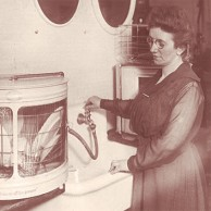 Josephine Cochrane designs the first functional dishwasher